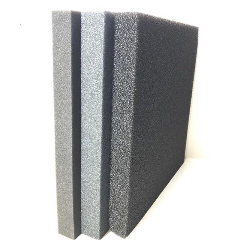 Filtermatte 50x50x5 Schwarz